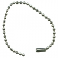 SHORT NICKEL PLATED STEEL BALL CHAIN